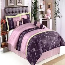 purple king size bedding sets traditional bedroom design with purple fl pattern style queen size bedding