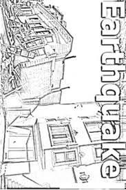 Small Picture Earthquake Today Coloring Page Dibujo De Terremoto Para Colorear