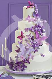Wedding Cake With Butterflies C A K E S Butterfly