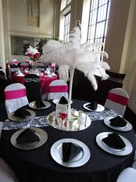 ... Black Tablecloth White Chair Covers Inspirational Coordinating Tables Black  Tablecloth Silver Chargers Black ...