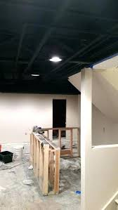 painted basement ceiling ideas. Painting Unfinished Basement Ceiling Painted Ideas Astonishing Design Pictures