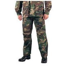 Size Chart Rothco Mens Acu Bdu Pants Note We Recommend