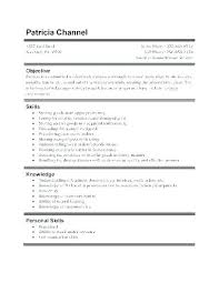 Job Resume Sample For First Line Time Example Receptionist Duties