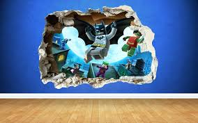 lego wall decal batman wall sticker lego batman wall stickers