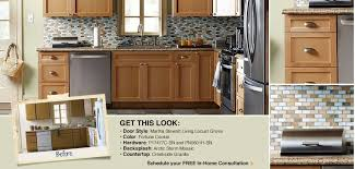 Cabinet refacing idea - Locust Grove One from Martha Stewart ...