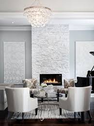 bling chandelier white stone fireplacesfireplace
