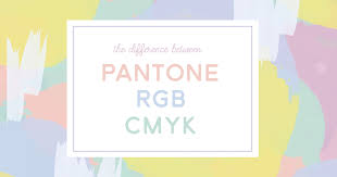 Whats The Difference Between Pantone Cmyk And Rgb Colors