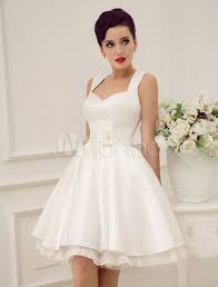 sweetheart backless short wedding dress milanoo milanoo com