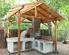 Из чего построить летнюю кухню на даче 152