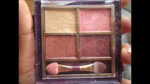 lakme eye color quartet eye shadow quad palette desert rose review you