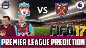 Liverpool vs West Ham - Fifa Match Prediction - YouTube