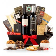 wine baskets the finer things gift basket
