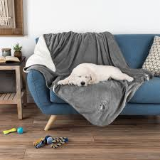 waterproof pet throw 50 x 60 inch bed couch protect furniture dog blanket gray dog blanket for couch t36