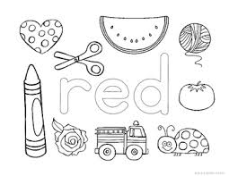 But also a great learning tool for kids. Learning About Colors Coloring Pages By The Super Teacher Tpt