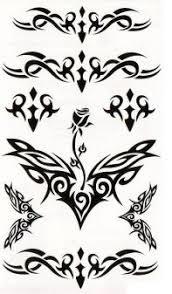 Tetování Nalepovací Ornamenty