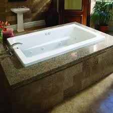 wonderful garden tub with jets at