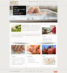 Cincinnati Web Design Company Elan Salon Web Design Columbus Ohio Tenara Technologies