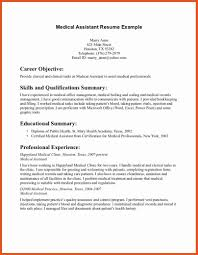 Interesting Design Medical Assistant Resume Objective Medical ...