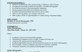 Photographer Resume Sample Photographer Resume Sample Freelance Photographer Resume Samples 12