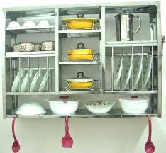 plate rack cabinet plate storage for kitchen