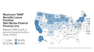 California Cash Aid Chart More States Raising Tanf Benefits To Boost Families