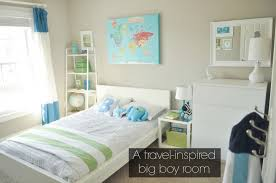 bedroom exquisite travel themed big boy bedroom with white bedding sets also canvas wall art