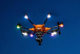 Foxfury Lights A New Drone Camera Light From Foxfury Drone Below