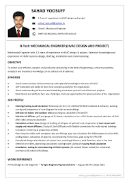 Inspiration Mep Engineer Resume India In Cover Letter For Hvac
