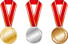 無料イラスト] 金銀銅のメダル - パブリックドメインQ:著作権フリー画像素材集