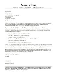 Cover Letter Providing Systems Administrator Cover Letter Example