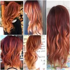 Couleur Rouge Blond Roux Je Suis Fan Cheveux Roux Pinterest