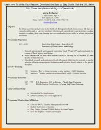 4 Cv Format Teachers Job Payslips For Pics Cover Letter Resume