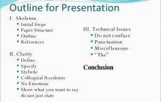 info page of general ideas for powerpoint presentation topics