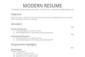 Resume Templates For Microsoft Word Brilliant Ideas Of Free