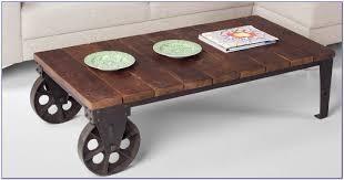 industrial look coffee table industrial style coffee table with wheels coffee table home