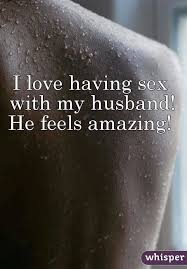 Sex with my husband