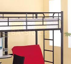 Loft Beds ~ Loft Bed With Futon And Desk Bunk Sofa Beds Chair loft ...