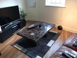 solid marble coffee table scs tables