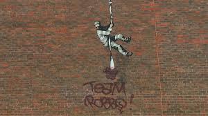 banksy prison mural rival s name