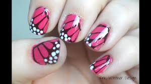Easy Nail Polish Designs Tutorial Easy Butterfly Nail Art Design Tutorial Using Homemade Water Decals