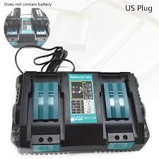 <b>Двойное зарядное устройство для</b> Makita 14,4 в 18 в BL1830 ...