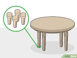 3 ways to raise the height of a table