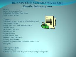 Free Childcare Advertising Free Business Plan For A Daycare Center