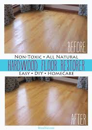 non toxic all natural rer for hardwood floors via bren did
