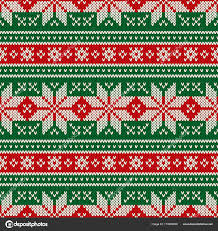 christmas sweater pattern background green. Exellent Sweater Traditional Christmas Seamless Knitted Pattern With Snowflakes  And New Year Design Background Knitting Intended Sweater Background Green R