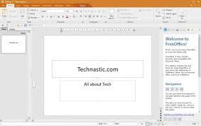 tech office alternative. FreeOffice 2018 Is A Great Microsoft Office Alternative Tech Office Alternative T