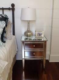 mirrored bed side table bobreuterstl jcpenney mirrored furniture