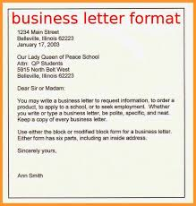Business Letter Format Sop Example College Resume Heading Formal