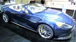 aston martin vanquish blue interior. 2014 aston martin vanquish volante exterior and interior walkaround new york auto show youtube blue e
