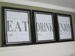Kitchen Artwork Diy Kitchen Word Art Artwork The Elm Life